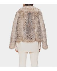 Gucci - Multicolor Badger Fur Jacket - Lyst