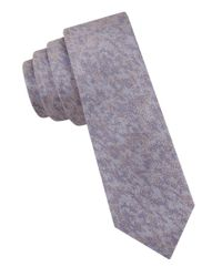 William Rast | Blue Silk Abstract Patterned Tie for Men | Lyst