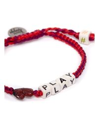 Venessa Arizaga - Red 'horse Play' Bracelet - Lyst
