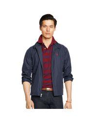 Polo Ralph Lauren - Blue Lightweight Woven Jacket for Men - Lyst