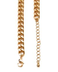 Forever 21 - Metallic Chain Plate Necklace - Lyst