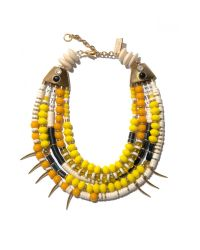 Lizzie Fortunato | Yellow Island Vibes Necklace | Lyst
