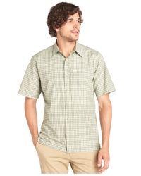 G.H. Bass & Co. | Green Explorer Short-sleeve Plaid Performance Shirt for Men | Lyst