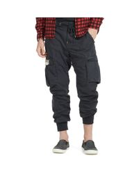 Denim & Supply Ralph Lauren | Green Cotton Cargo Drawstring Pant for Men | Lyst