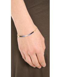 Shashi - Blue Ombre Chain Bracelet - Lyst