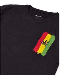 Criminal Damage - Black Marley Tee for Men - Lyst