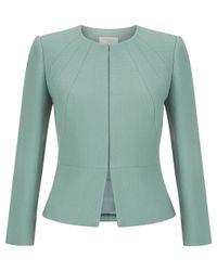 Hobbs - Green Aphra Jacket - Lyst