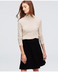 Ann Taylor | Natural Everyday Turtleneck | Lyst