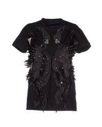 Just Cavalli | Black Blouse | Lyst