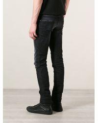 DSquared² - Black Slim Jeans for Men - Lyst