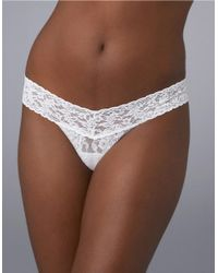 Hanky Panky | White I Do Low Rise Thong | Lyst