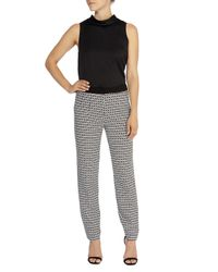 Coast - Black Jervis Jacqaurd Trousers - Lyst
