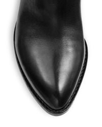 Alexander Wang Black Sigrid Tall Leather Boots