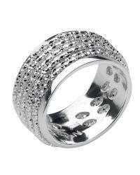 Links of London   Metallic Celeste Silver Wrap Ring   Lyst