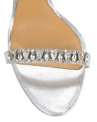 Badgley Mischka | Elope-ii Ankle Strap Metallic Shoe | Lyst