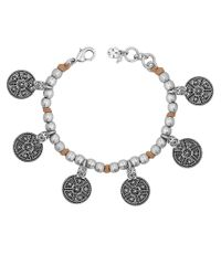 Lucky Brand - Metallic Bali Charm Bracelet - Lyst