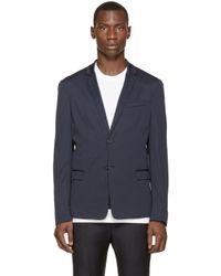 DIESEL | Blue Navy Lightweigth J-koca Blazer for Men | Lyst