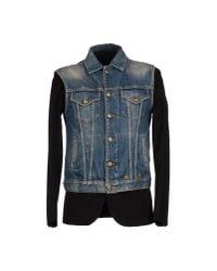 R13 - Blue Denim Outerwear for Men - Lyst