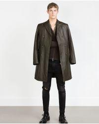 Zara | Brown Cashmere Cardigan for Men | Lyst