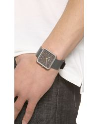 Braun | Black Classic Square Watch for Men | Lyst