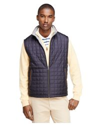 Brooks Brothers | Blue Reversible Vest for Men | Lyst