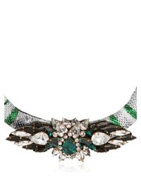 Shourouk | Multicolor Mamba Necklace | Lyst