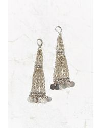 Urban Outfitters | Metallic White Sands Drop Earring | Lyst