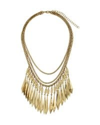 H&M - Metallic Multistrand Necklace - Lyst