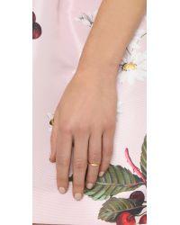 Gorjana | Metallic Petra Shimmer Midi Ring | Lyst