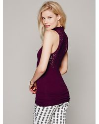 Intimately | Purple Womens Sweetheart Seamless Cami | Lyst