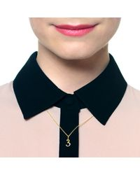 Lulu Frost - Metallic Code Number 14kt #4 Necklace - Lyst