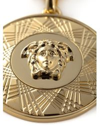 Versace | Metallic Medusa Necklace for Men | Lyst