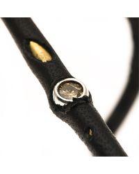 Beth Orduna | Black Brass & Leather Cuff | Lyst