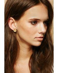 Forever 21 - Metallic Made Pembe Sita Stud Earrings - Lyst