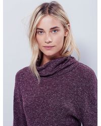 Free People | Purple By The Fire Mini Dress | Lyst