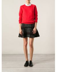 Vanessa Bruno Athé - Red Rear Tie Sweater - Lyst