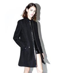 3.1 Phillip Lim | Black Jute-silk Tailored Trench Coat | Lyst