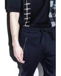 3.1 Phillip Lim - Blue Tapered Sweatpant for Men - Lyst