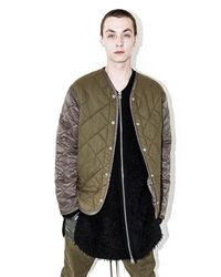 3.1 Phillip Lim - Multicolor Quilted Crochet-back Jacket for Men - Lyst