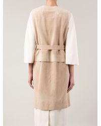 The Row | Natural Sleeveless Long Jacket | Lyst