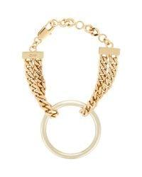 Chloé - Metallic Carly Bracelet - Lyst