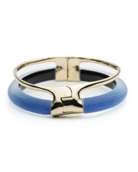 Alexis Bittar | Blue Double Band Liquid Hinge Bracelet You Might Also Like | Lyst