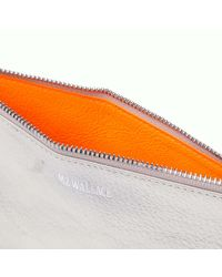 MZ Wallace | Metallic Neon Orange Layla | Lyst