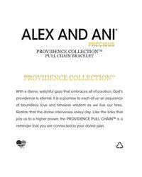 ALEX AND ANI - Metallic Precious Metals Evil Eye Figaro Pull Chain Bracelet - Lyst