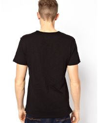Junk De Luxe | Black Tshirt Sean for Men | Lyst