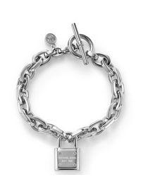 Michael Kors - Metallic Mkj3312040 Womens Toggle Bracelet - Lyst
