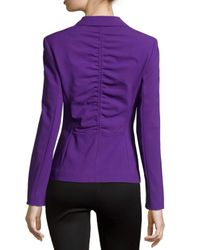 ESCADA | Purple Double-button Front Blazer | Lyst