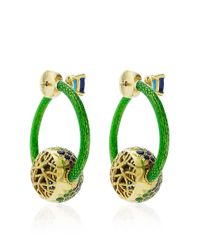 Nicholas Varney | Multicolor One Of A Kind Snowball Wrap Around Ear Clips | Lyst