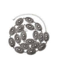 Forever 21 | Metallic Concho Bead Belt | Lyst