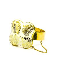 Wagner Arte - Metallic Gold Iris Colosseum Bracelet - Lyst